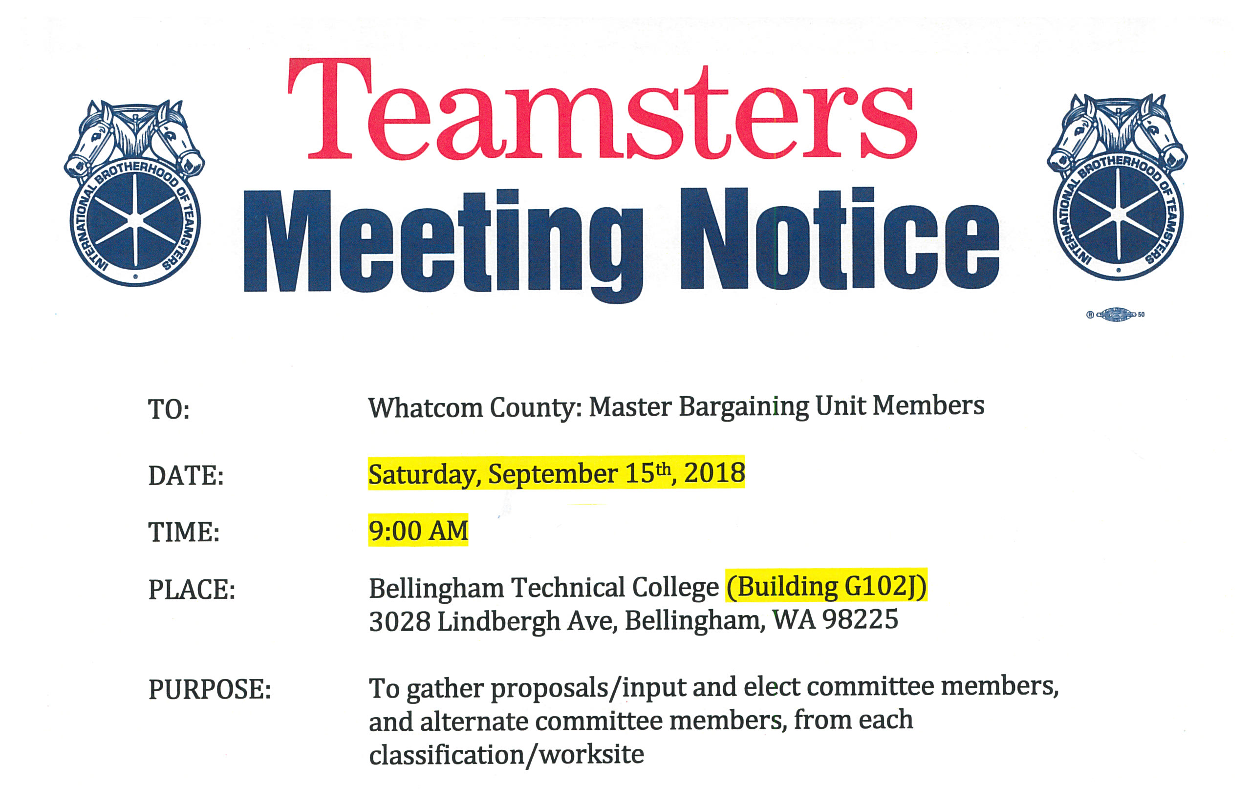 Teamsters Local 231 Contract Updates